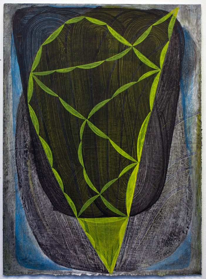 Brian Cypher, Untitled, 2012, acrylic on paper, 11 x 15 inches (courtesy of the