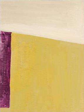 Ilse D'Hollander, Untitled, 1996, oil on paper paper, 12 x 9 1/16 inches (© The