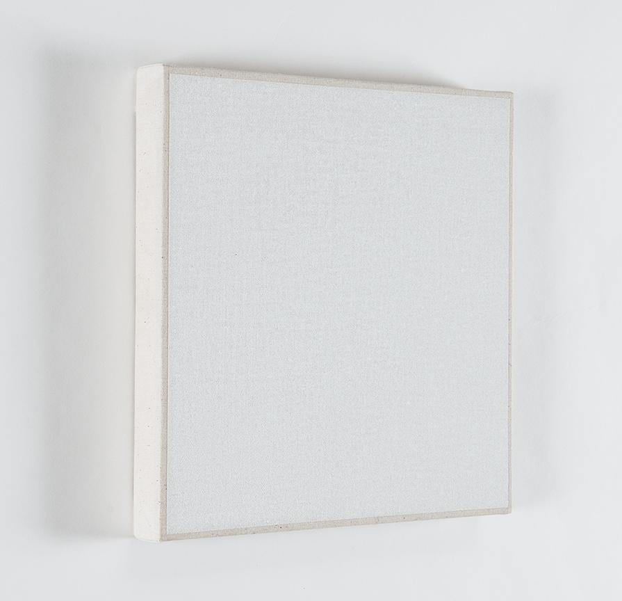 Daniel Levine, Untitled #1, 2011-2012, oil on cotton, 9 x 8-13/16 inches (courte