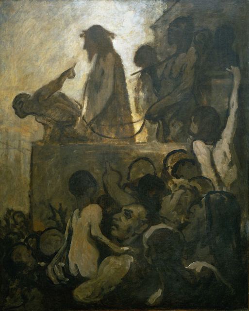 Honoré Daumier, Ecce Homo, c.1849-52 (Museum Folkwang, Essen/Photo © Museum Folk