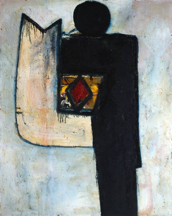 Alan Davie, Image of the Fish God, 1956, oil on board, 1530 x 1219 mm (Tate Gall