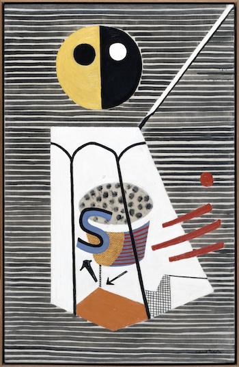 Stuart Davis, Salt Shaker, 1931, oil on canvas (©Estate of Stuart Davis/Licensed