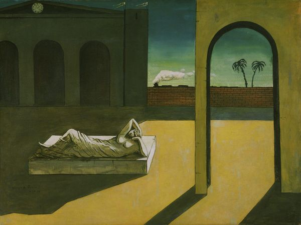 Giorgio de Chirico,The Soothsayer's Recompense, 1913, Oil on canvas, Philadelphi