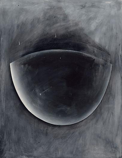 Jay DeFeo, White Shadow, 1972, acrylic on masonite, 48 x 37 1/8 inches (courtesy