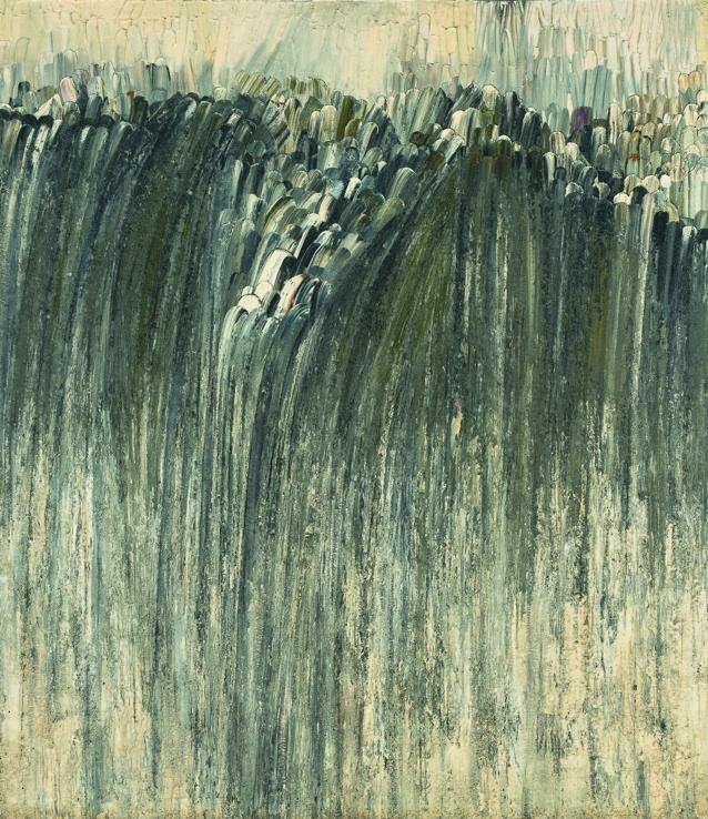 Jay DeFeo, Origin, 1956, © 2012 The Jay DeFeo Trust / Artists Rights Society