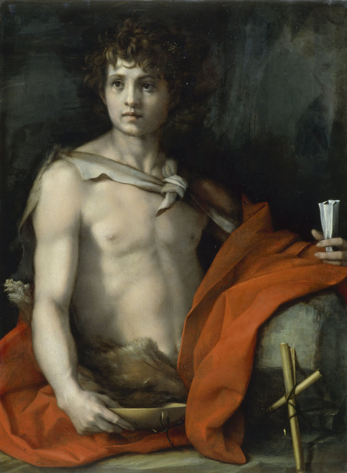 Andrea del Sarto, Saint John the Baptist (Palazzo Pitti, Florence)