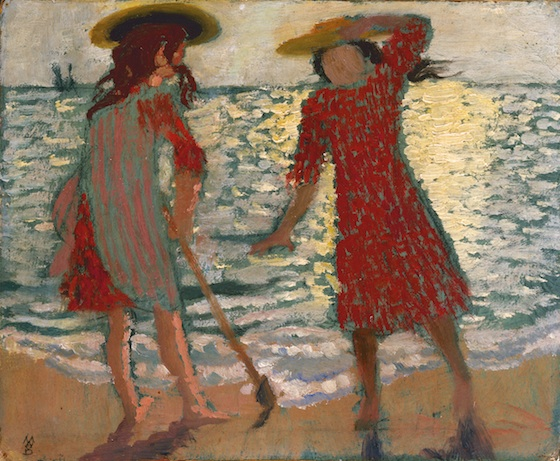 Maurice Denis, On the Beach (Two Girls against the Light), 1892, private collect