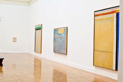 Installation View, Richard Diebenkorn: Ocean Park Series at the Corcoran Gallery