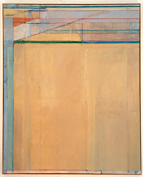 Ocean Park No. 67, 1973, Richard Diebenkorn, The Doris and Donald Fisher Collect