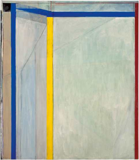 Richard Diebenkorn, Ocean Park #36, 1970, Oil on canvas, Orange County Museum of