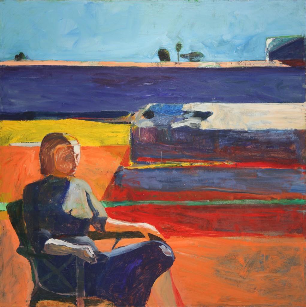 Richard Diebenkorn, Woman on Porch, 1958 (New Orleans Museum of Art)