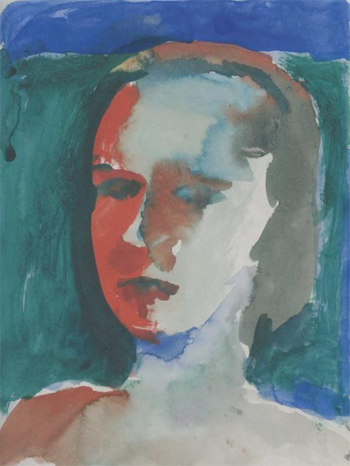 Richard Diebenkorn, Untitled, 1957, gouache on paper (© The Richard Diebenkorn F