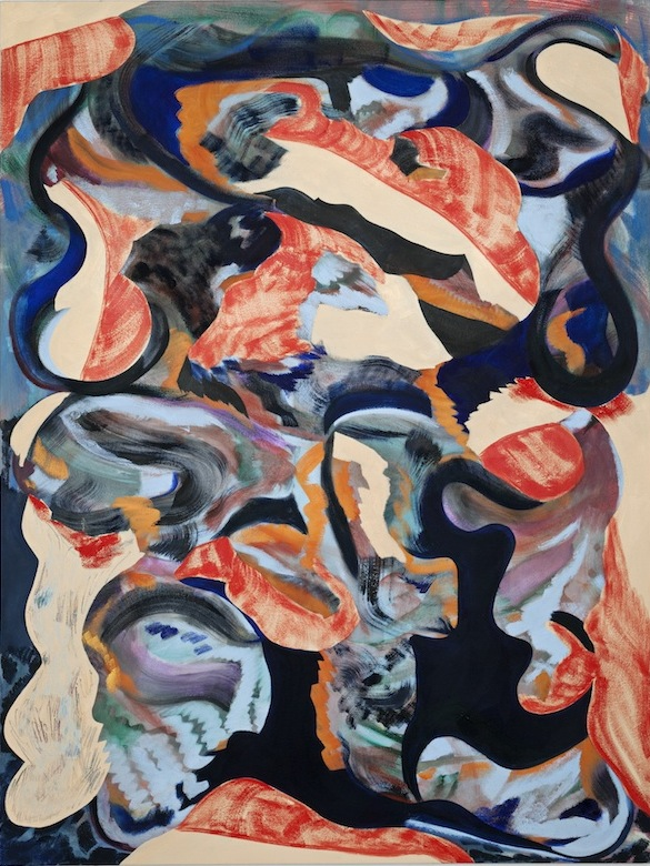 Ariel Dill, We Broke Our Noses on the Door, 2013, oil on canvas, 48 x 36 inches