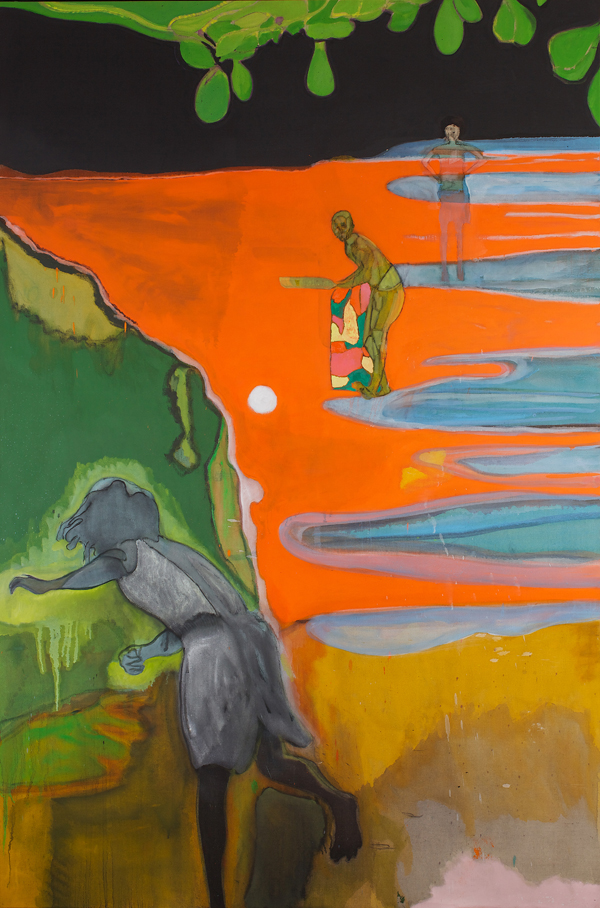 Peter Doig, Cricket Painting (Paragrand) (© Peter Doig)