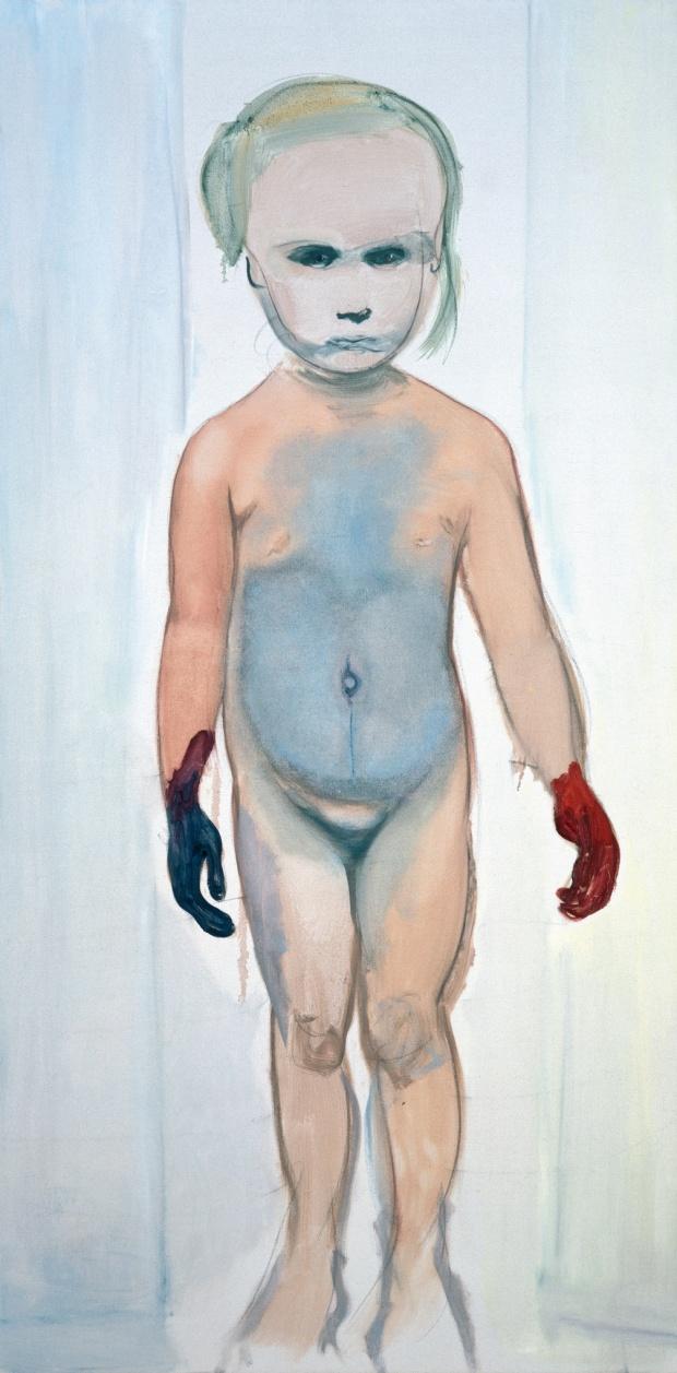 Marlene Dumas, The Painter, 1994 (The Museum of Modern Art, New York © Marlene D