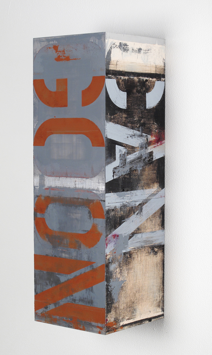 Brian Dupont, Godot, 2011. Oil on aluminum. 18 x 6 x 6 inches (courtesy of the a