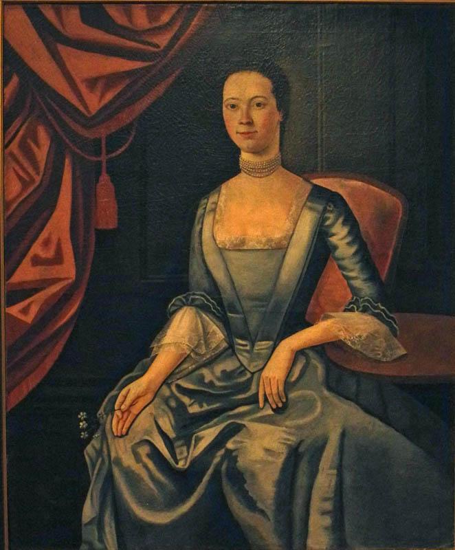 John Durand, Anne Billhop Farmer Jarvis, 1772 (Wadsworth Atheneum)
