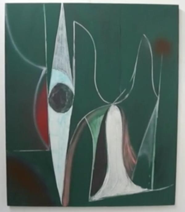 Painting by Jason Duval (screengrab: Gorky's Granddaughter)