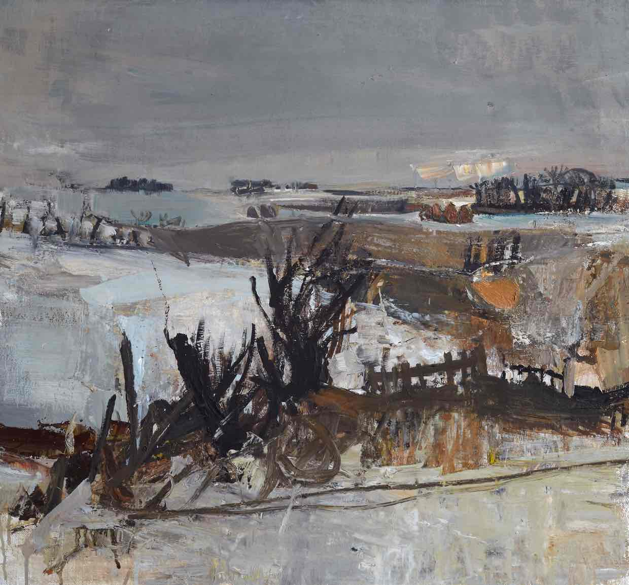Joan Eardley, Fields Under Snow, 1958 (photo: Estate of Joan Eardley. All Rights Reserved, DACS 2016)