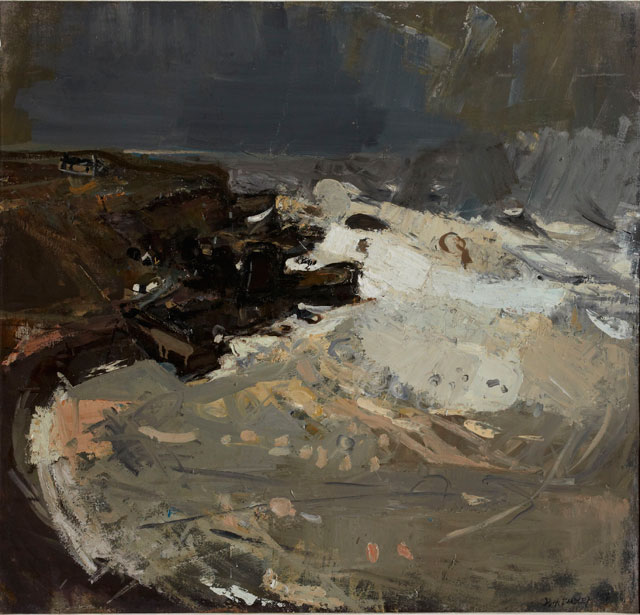 Joan Eardley. Winter Sea V, 1958, oil on canvas, 43.5 x 51 cm (Private collection. © Estate of Joan Eardley. All Rights Reserved, DACS 2016)