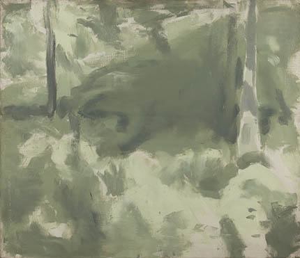 Edwin Dickinson, Locust Woods and Grass, Truro, 1934, 26 x 30 1/4 inches, Oil on