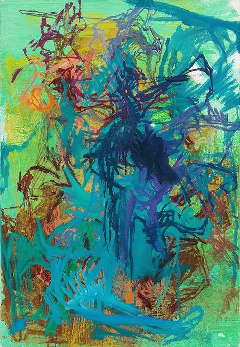 Elizabeth Gilfilen, Untitled, 2011, oil on canvas, 28 x 19.5 inches (courtesy Ga