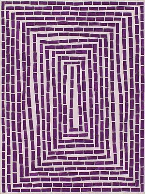 Lori Ellison, Untitled, 2013, gouache on wood panel, 12 x 9 inches (courtesy of