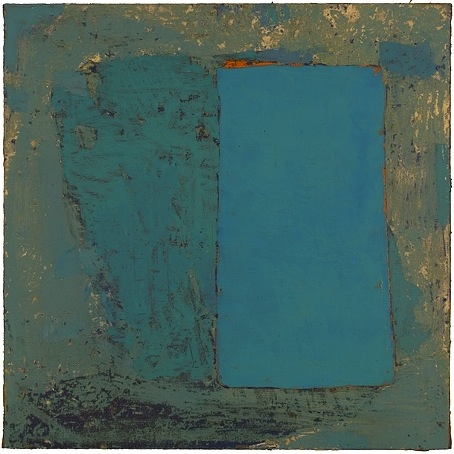 Emily Gherard, Untitled, 2009, oil on canvas on board, 24 x 24 inches
