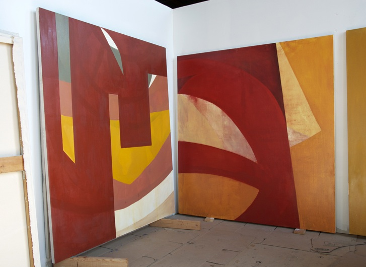 James Erikson, Studio View, photo: Paul Behnke (courtesy of the artist)