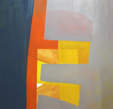 James Erikson, Slow Morning, 2012, oil on canvas, 54 x 56 inches (courtesy of th