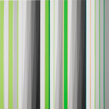 Gabriele Evertz, (A-) Chromatic + Metallics, 24 x 24 inches, acrylic on canvas o