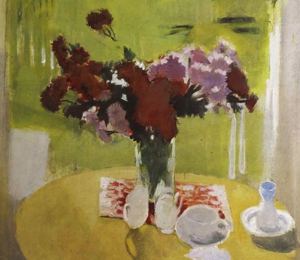 Fairfield Porter, painting, detail