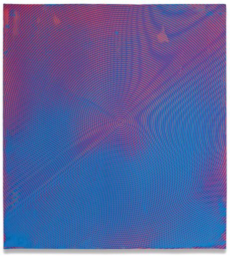 Anoka Faruquee, 2012P-29, 2012, acrylic on linen on panel, 22.5 x 20.5 inches (c