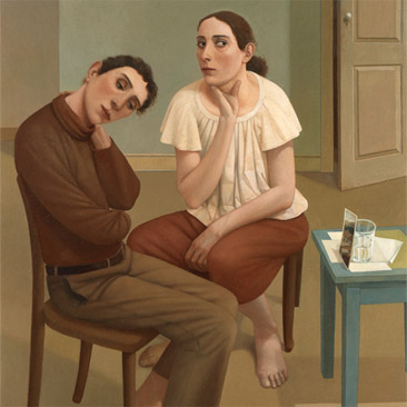 Alan Feltus, The Best of Times, 2007, oil on canvas, 47 1/4 x 39 1/4 inches (cou