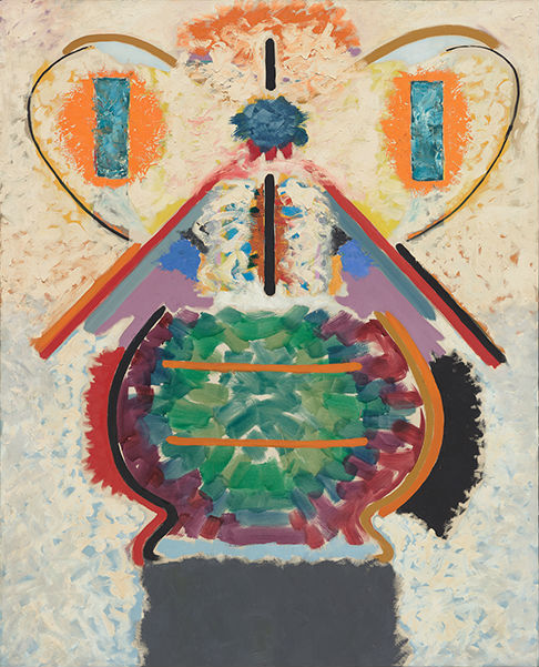 John Ferren, The Butterfly Bowl, 1956, oil on canvas, 69 x 56 inches (courtesy o