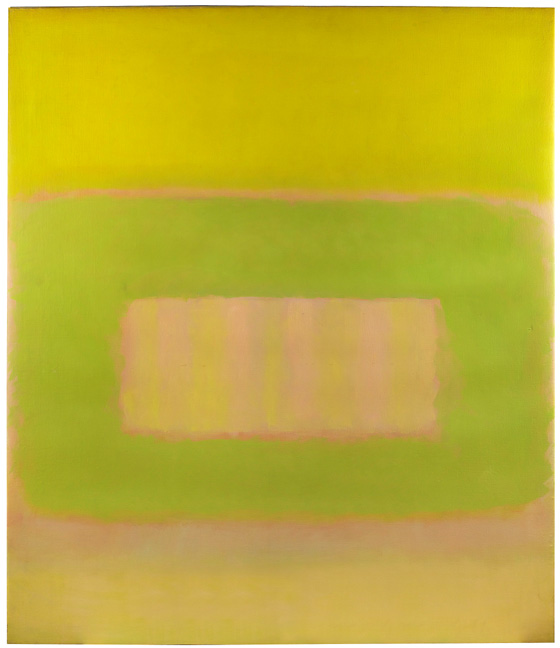 Perle Fine, Cool Series, No. 50, April, ca. 1961–63, oil on canvas, 69-1/2 x 60