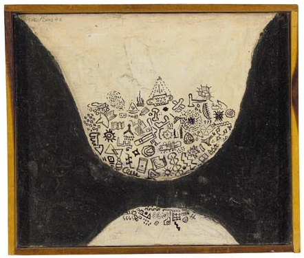 Forrest Bess, Untitled (The Void I), 1946-1947, Harry Burkhart Collection