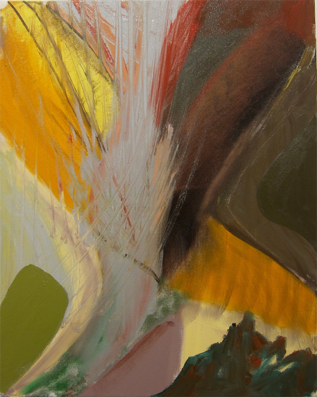 Alison Fox, Everyone's Butterfly, 2012, oil on canvas, 20 x 18 inches (courtesy