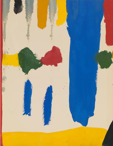 Helen Frankenthaler, Parade, 1965 (Gagosian Gallery / Helen Frankenthaler Foundation / Artists Rights Society)
