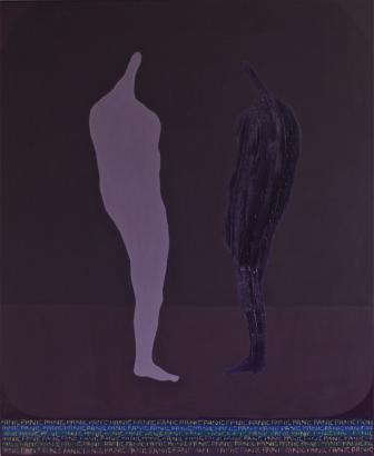 Robert Fry, Related Study E, 2011, acrylic, oil and enamel on canvas, 175 x145 c
