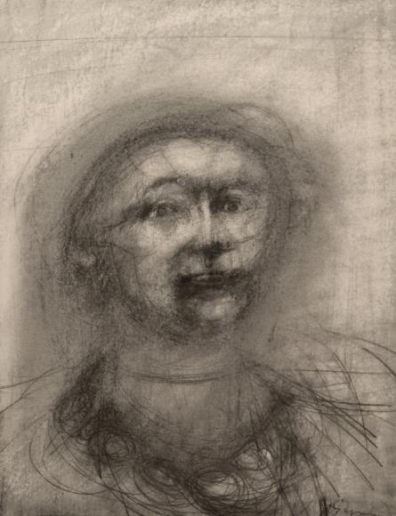 Bruce Gagnier, Portrait of a Woman I, 2015, graphite on paper, 27 x 21 inches (courtesy of Lori Bookstein Fine Art)