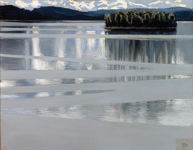 Akseli Gallen-Kallela: Lake Keitele, 1905, Finnish National Gallery / Central Ar