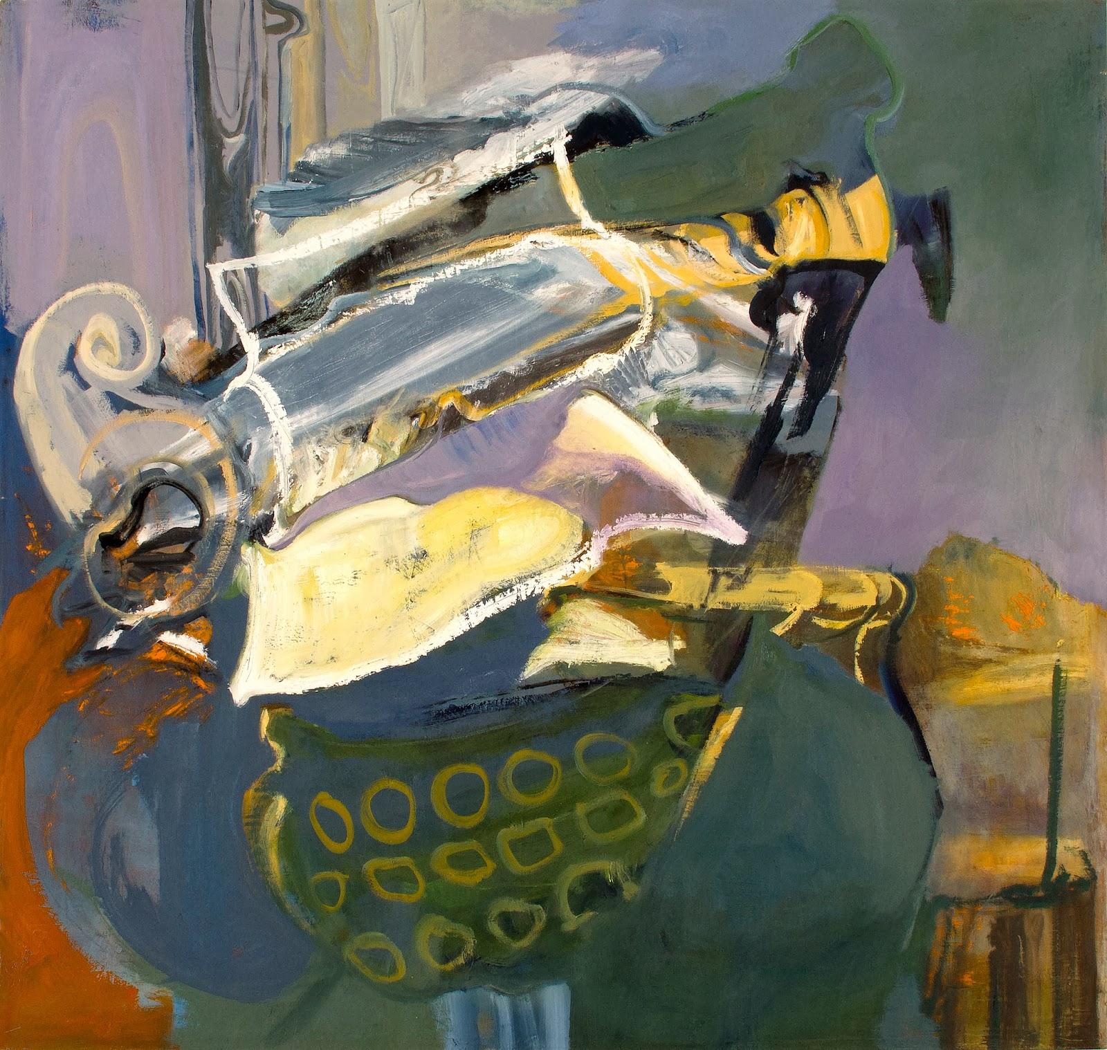Ashley Garrett, Flood, 2013, oil on canvas, 36 x 34 inches (courtesy of the arti