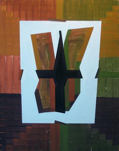 Gary Stephan, Light Trap, AC/Canvas, 55 x 70 inches, 2011