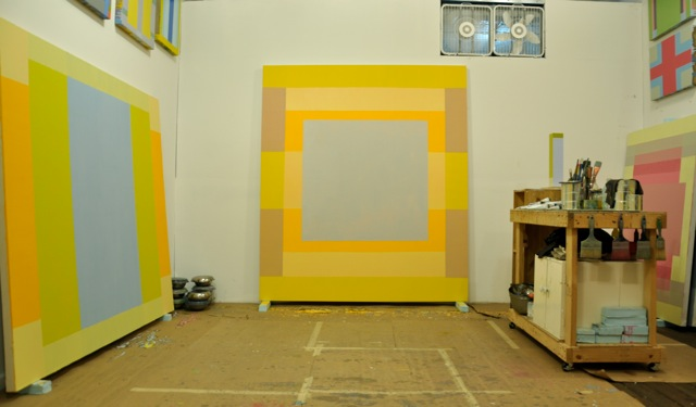 Matthew Neil Gehring, Studio View (courtesy of the artist)