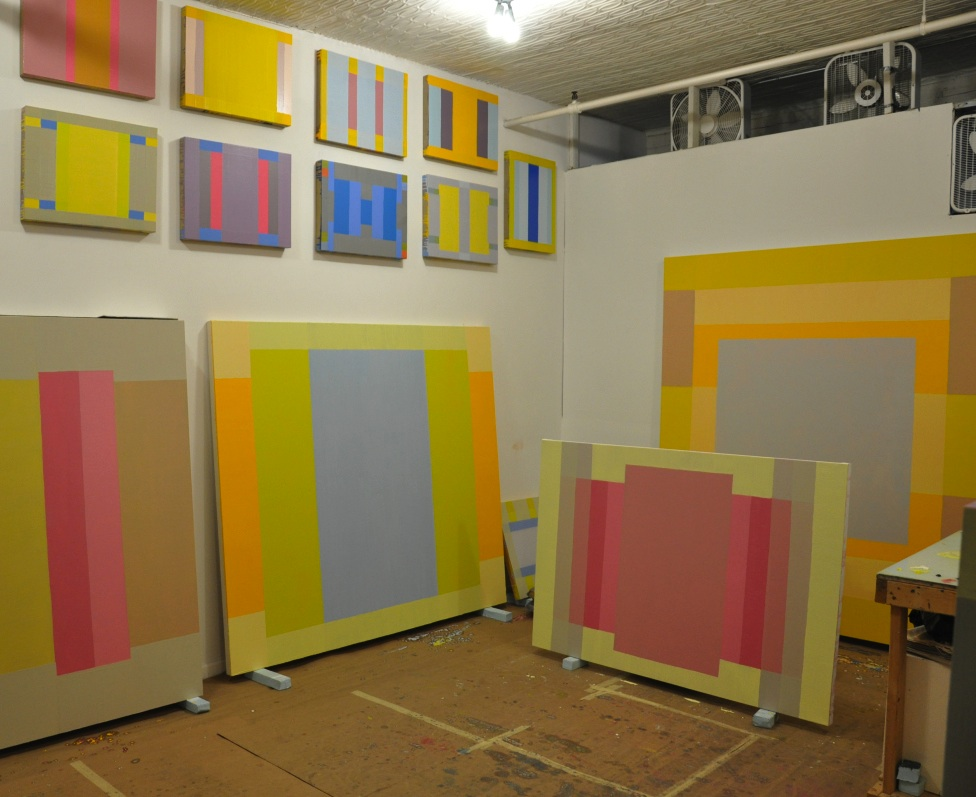 Matthew Neil Gehring, Studio View, 2013 (courtesy of the artist)
