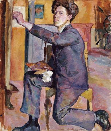 Alberto Giacometti, Self-portrait, 1921, Alberto Giacometti Foundation, Kunsthau