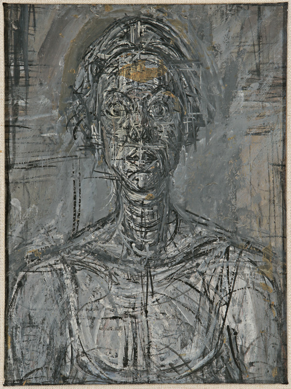 Alberto Giacometti, Bust of Annette, 1954 (Private Collection © Alberto Giacomet