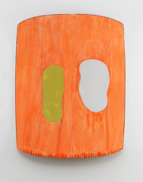 Ron Gorchov, Tiegan, 2016, oil on linen, 68 x 55 x 10 inches (courtesy of Cheim & Read)
