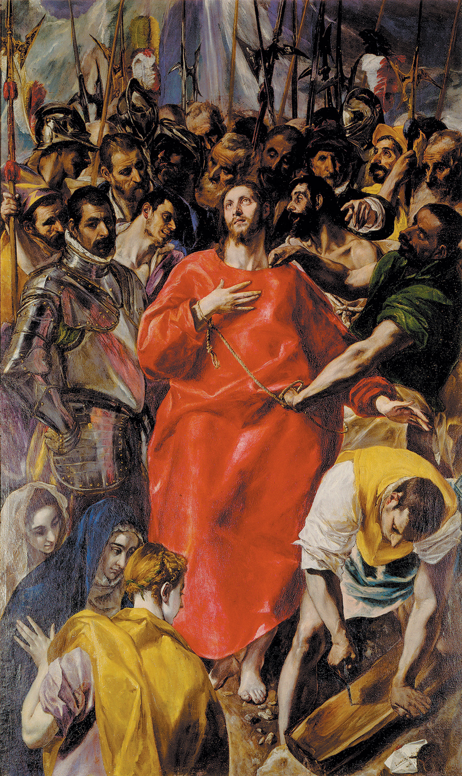 El Greco, The Disrobing of Christ, 1577–1579 (Toledo Cathedral)